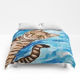 Hello Tabby Comforters