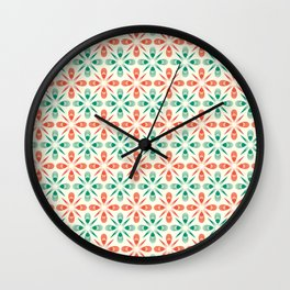That 70-ies pattern Wall Clock