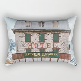 Hotel Belvedere, Switzerland Rectangular Pillow