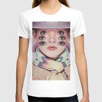 alien T-shirts featuring Alien by Mrs Araneae