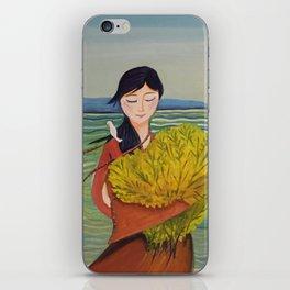 AoiShima KiiroiHana   Yuko Nagamori iPhone Skin