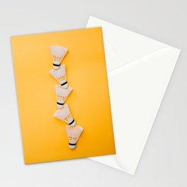 shuttlecocks for badminton Stationery Cards