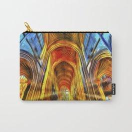 Bath Abbey Sun Rays Van Gogh Carry-All Pouch