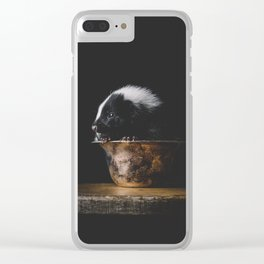 Petunia Clear iPhone Case