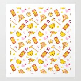 cardcaptor sakura pattern Art Print