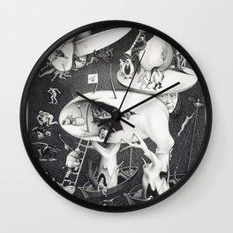 M. C. ESCHER - HELL (AFTER HIERONYMOUS BOSCH) Wall Clock