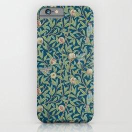 Birds and Pomegranates - William Morris iPhone Case
