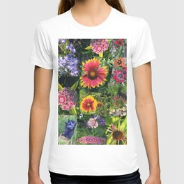 Floral Collage T-shirt