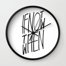 INNTW (Inverted Version) Wall Clock