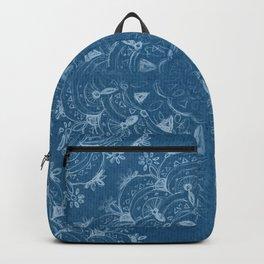 boho jeans mandala Backpack