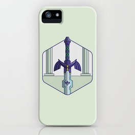 The Master Sword iPhone Case