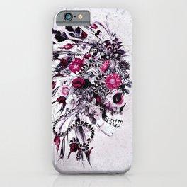 Skull Red iPhone Case