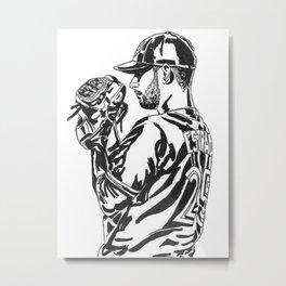 Estrada Metal Print