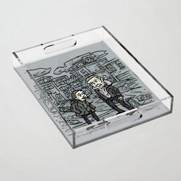 Linden and Holder Acrylic Tray