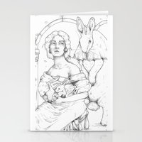 bunnies Stationery Cards featuring Bunnies  by Jessica Bowman Illustrates