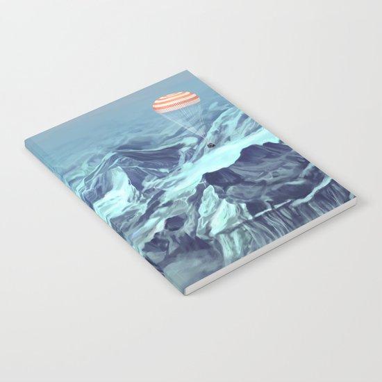 astronaut returns Notebook