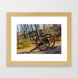 Little Bang Bang Framed Art Print