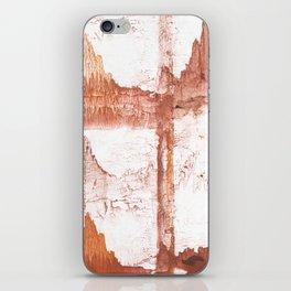 Sienna nebulous wash drawing iPhone Skin