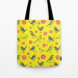 Birds of the same feather Tote Bag
