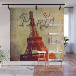 Paris Love Wall Mural