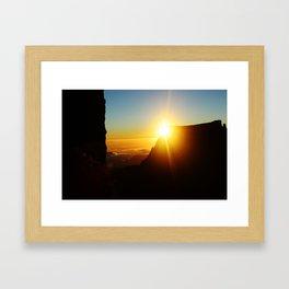 A new light a new day Framed Art Print