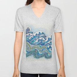 Waves That Wave Unisex V-Neck