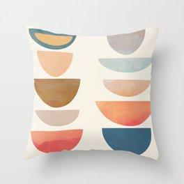 Modern Abstract Art 75 Throw Pillow