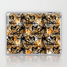 Aztec Pattern Orange Laptop & iPad Skin