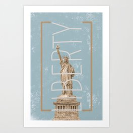 Liberty Green Art Print