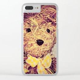 My Teddy Bear Clear iPhone Case