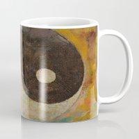 yin yang Mugs featuring Yin Yang by Michael Creese