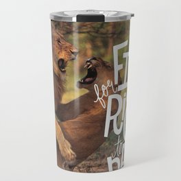 Fight for Your Right to Party Travel Mug