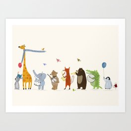 little parade Art Print