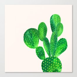 Bunny ears cactus Canvas Print