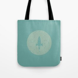 Vintage Fly Me to the Stars Tote Bag