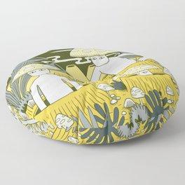 Mushroom Men Floor Pillow