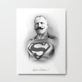 SuperbMan! Metal Print