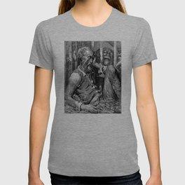 Don Quixote print | Quijote by Cervantes - Fine Art products T-shirt