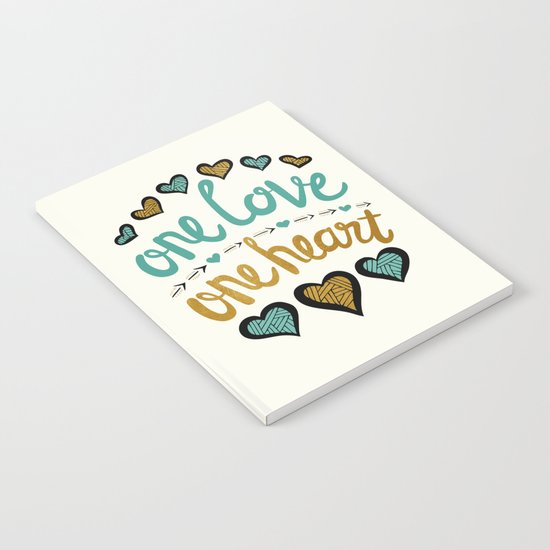 One Love One Heart Notebook