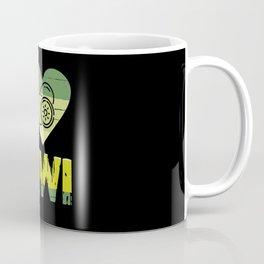 I Love Kiwi Fruit Farm Vegetables Edible Coffee Mug