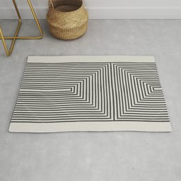 Tribal Modern Boho Art Rug