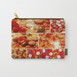 Fresh Hot Homemade Pepperoni Pizza Carry-All Pouch