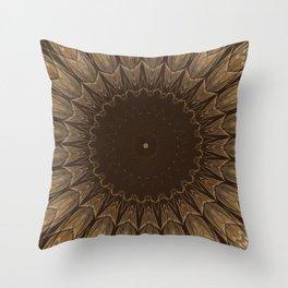 Sequential Baseline Mandala 16 Throw Pillow