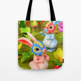 Lucha Brothers Tote Bag