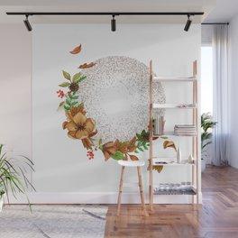 Enjoy - Fall flowers Wall Mural