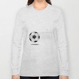 Moving Football Long Sleeve T-shirt