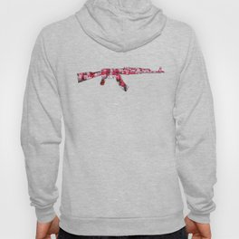 Flower Power Tulip AK47 Hoody