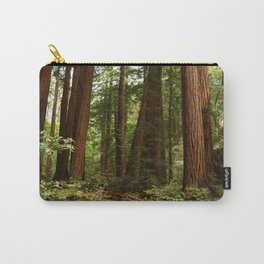 Walking Through The Muir Woods Carry-All Pouch
