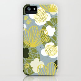 Kokedama Garden by Friztin iPhone Case