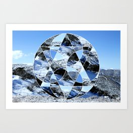Mt. Buller Art Print